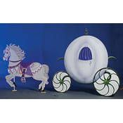 Dream Horse and Carriage Standee