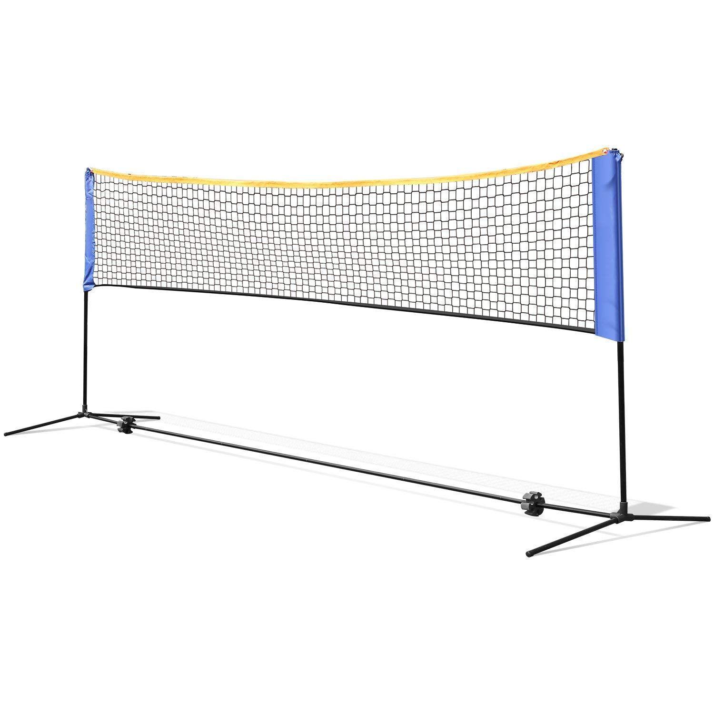 Femor Portable Badminton Tennis Net 13 Ft Net For Soccer Tennis Kids Volleyball Beach Ball Sports Net With Pole Tennis Nets Kids Volleyball Soccer Tennis