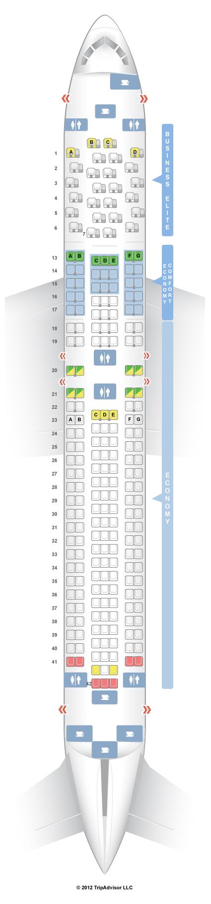 Seatguru seat map delta boeing er   best travel sites also images commercial aircraft air ride aviation rh pinterest