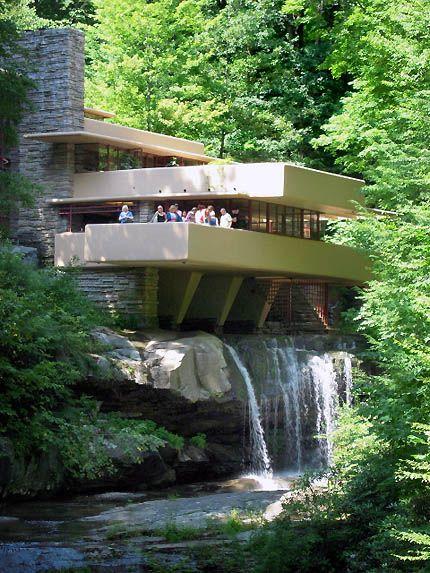 Falling Water Bear Run Pennsylvania 1936 Frank Lloyd Wright