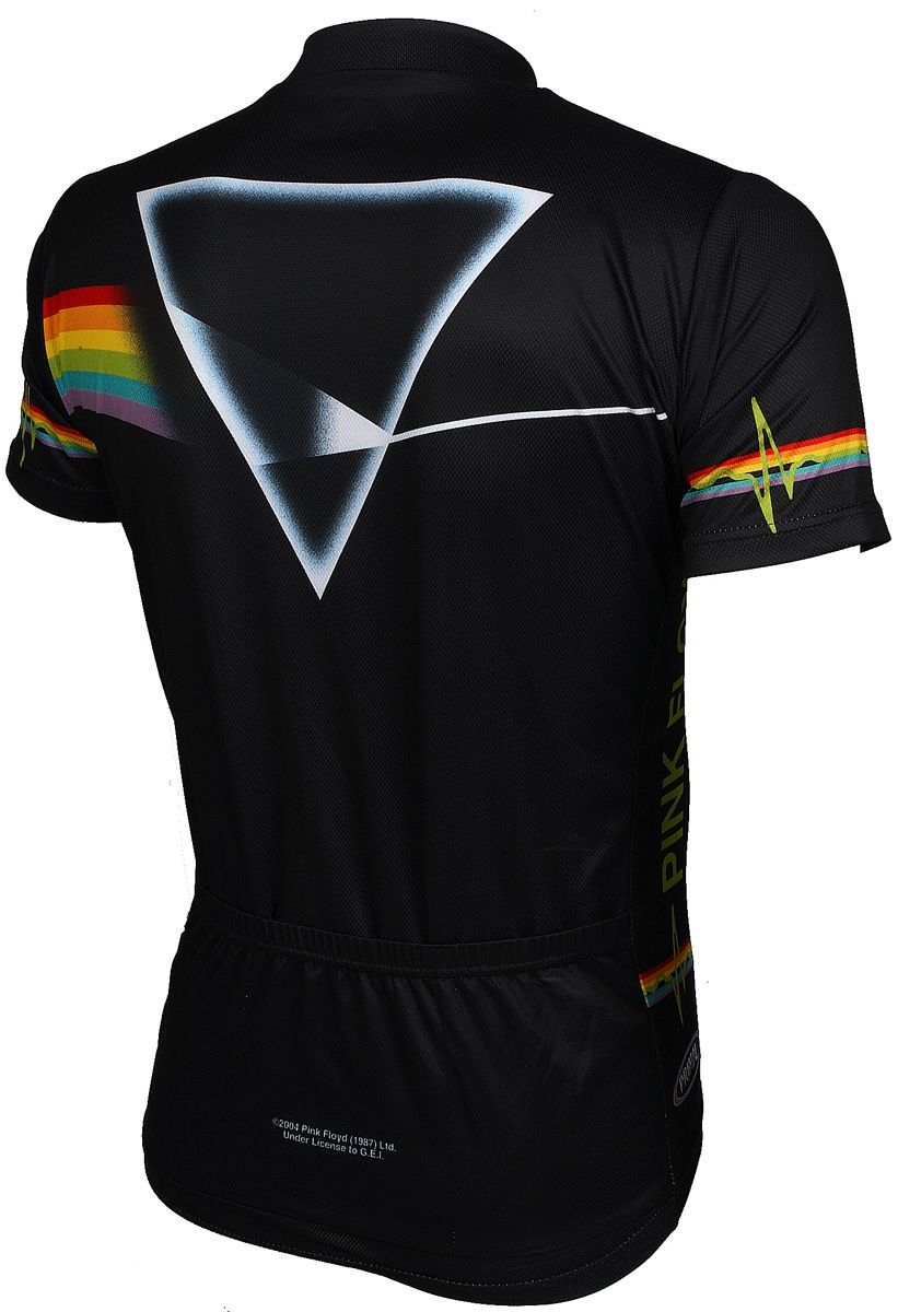 Freedom isn t free cycling jersey - Back View Of The Pink Floyd Dark Side Of The Moon Cycling Jersey At Cyclegarb