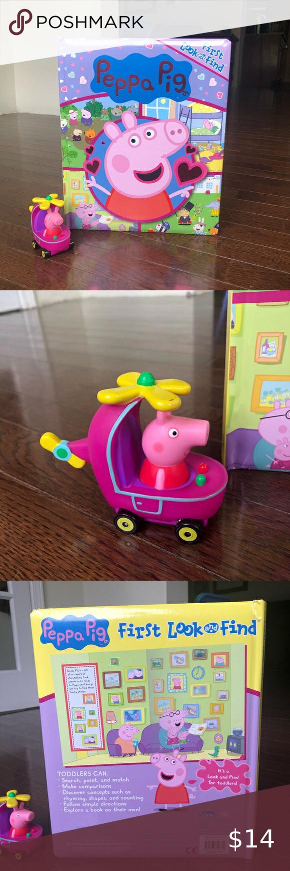 Peppa Pig Look Find Book Peppa Pig Toys Peppa Pig Peppa [ 1740 x 580 Pixel ]