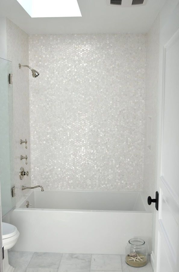 31 White Glitter Bathroom Tiles Ideas And Pictures Verbouwing