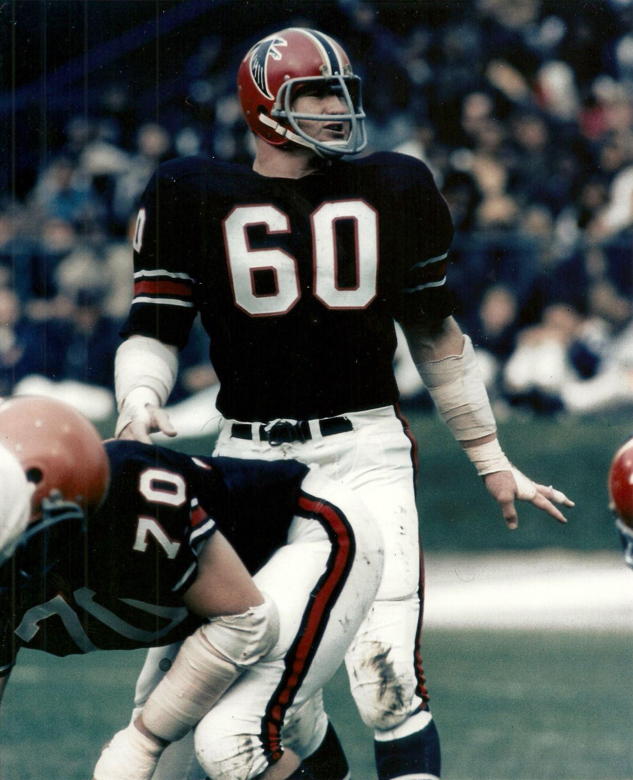 Tommy Nobis Wearing One Of My Favorite Atlanta Falcons Uniforms Atlanta Falcons Football Falcons Football Nfl Football Players