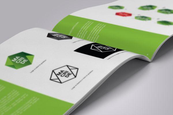 Corporate Id. // Macride // Maurizio Cristiano Denise by Maurizio Pagnozzi, Benevento, Italy on Behance | Branding |  Graphic Design | Print Design |