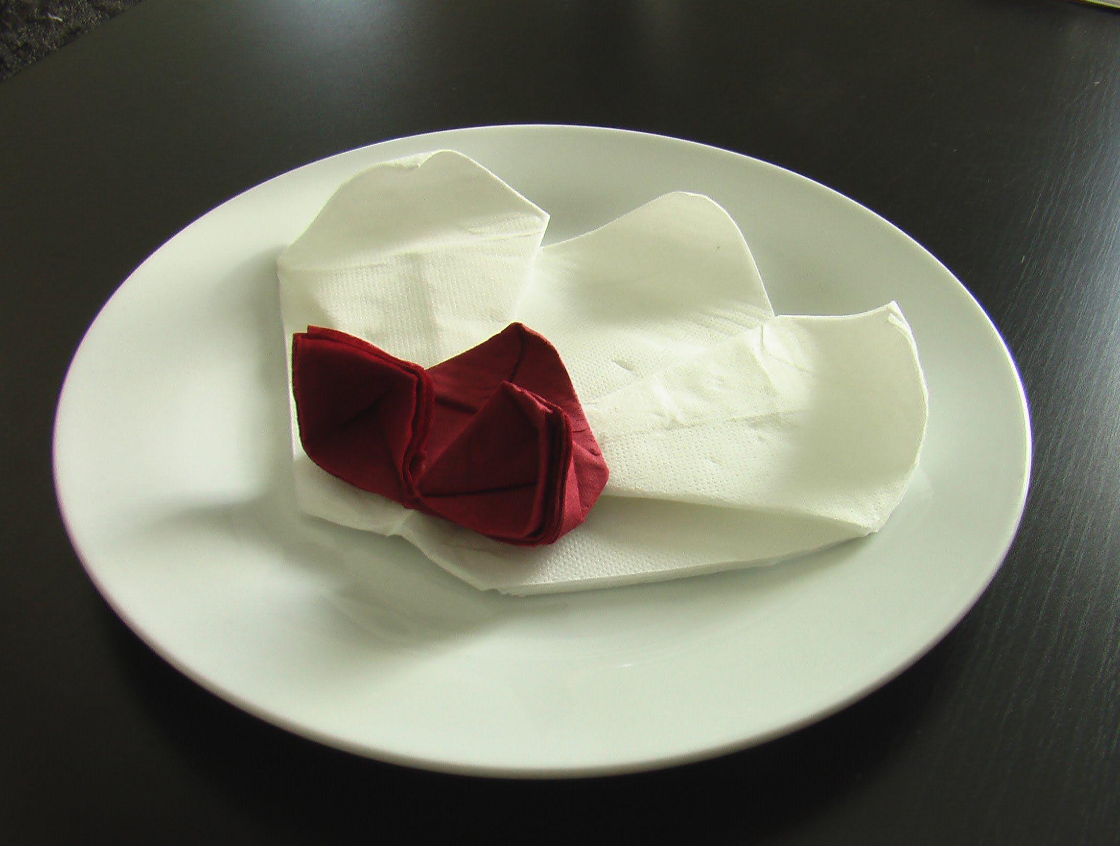 pliage serviette orchid e origami inspirations mariage. Black Bedroom Furniture Sets. Home Design Ideas