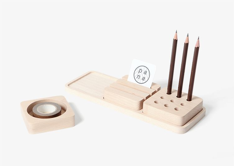 Organisateur de bureau bois design tendance 2016 déco design