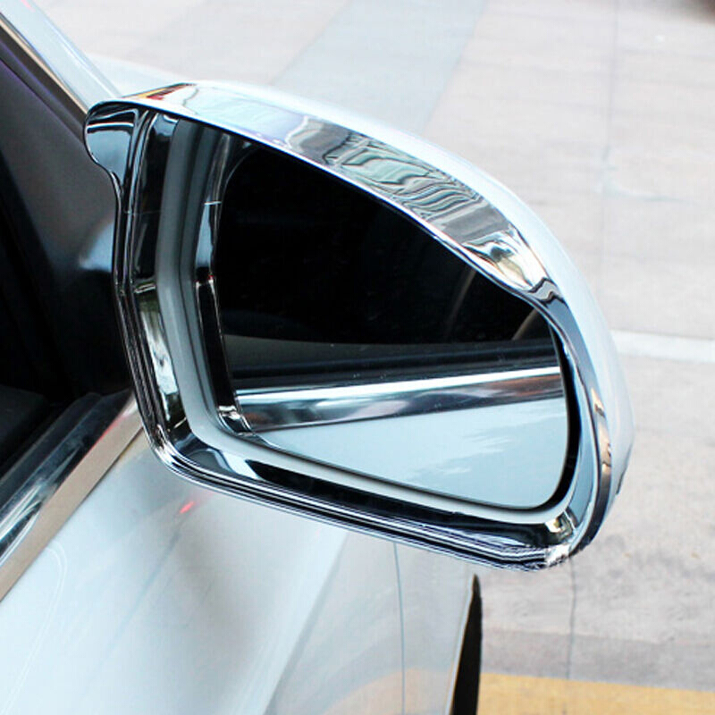 Audi Q3 2013 2015 Abs Plastic Rearview Mirror Block Rain Eyebrow Cover Trim Best Price Oempartscar Com Audi Q3 Car Rear View Mirror Rear View Mirror