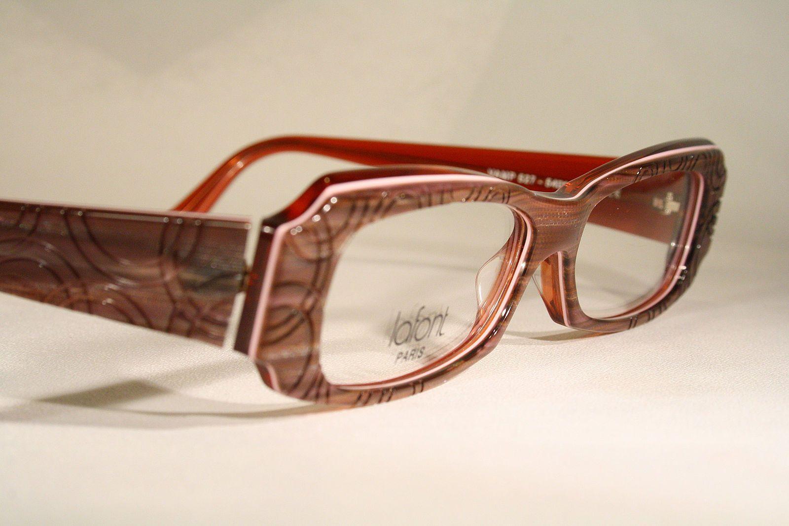 d48336b00883 New LAFONT  VAMP  Exotic Wild Unique Plastic Optical Eyeglasses Frames X- Large