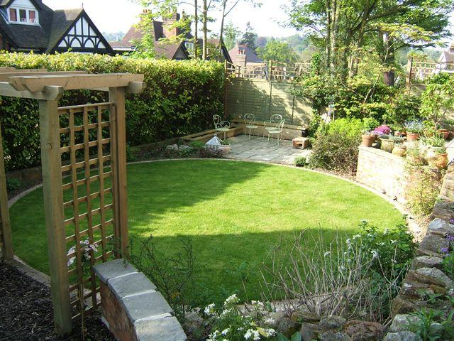 shape of lawn - Google Search | Дизайн для маленького сада ... on Medium Sized Backyard Ideas id=22801