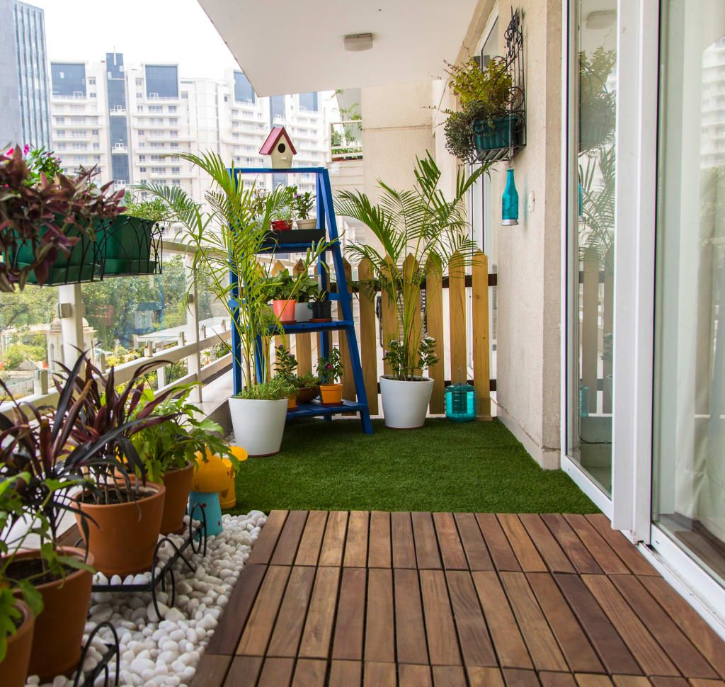 Interior design ideas inspiration pictures terrace for Balcony garden design ideas