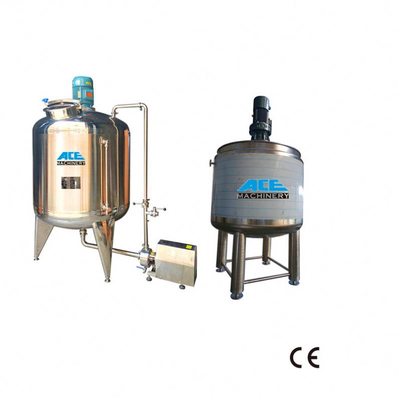 Factory Price Chemical High Temperature Stainless Steel Mixer For Food Reaction Vessel Reactor Stainless Steel Paint Gas Heating Making Machine