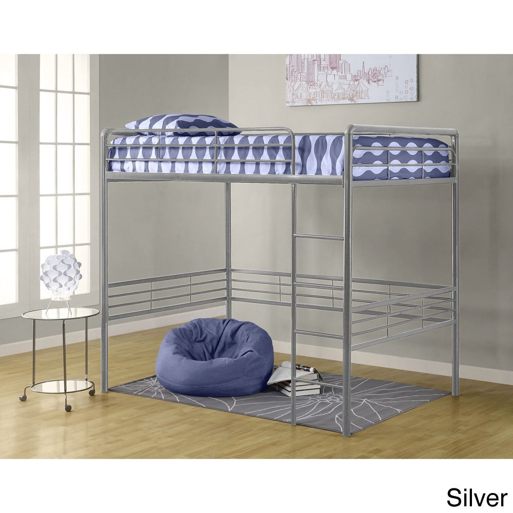 Loft bed plans full size  Open up space in any room with DHPus Metal Full Loft Bed and please
