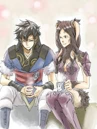 I just love pairing Lon'qu and Panne <3 they are just so cute