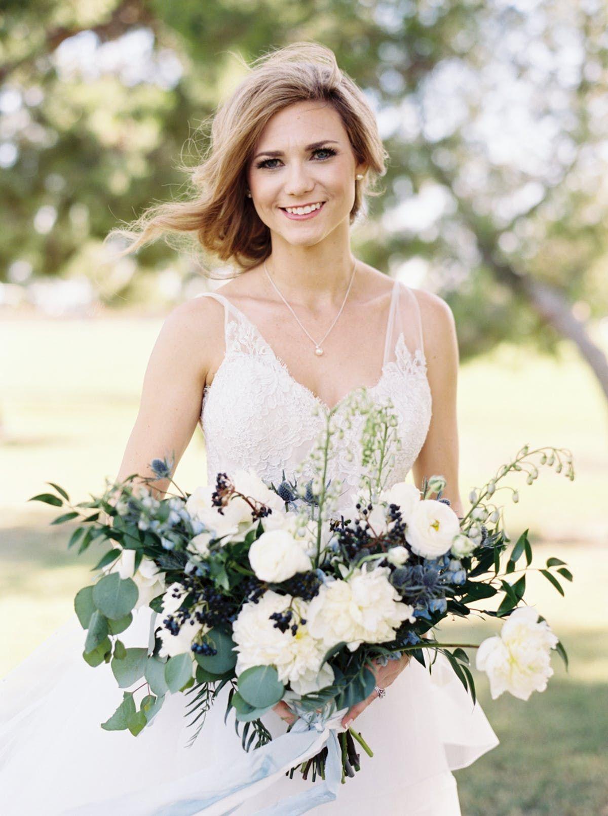 Traditional bluehued wedding in california wedding plans