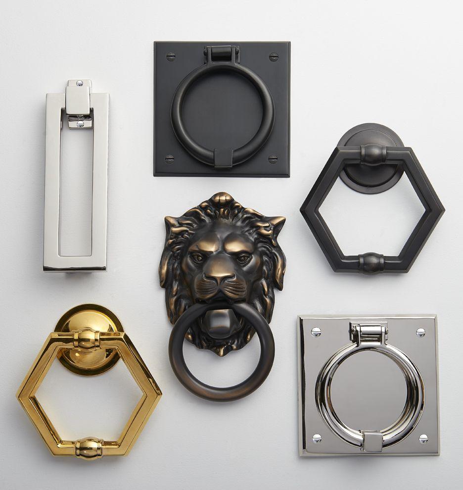 Modern rectangle door knocker for my home pinterest lion door
