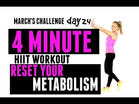 home workout  reset your metabolism  hiit cardio workout