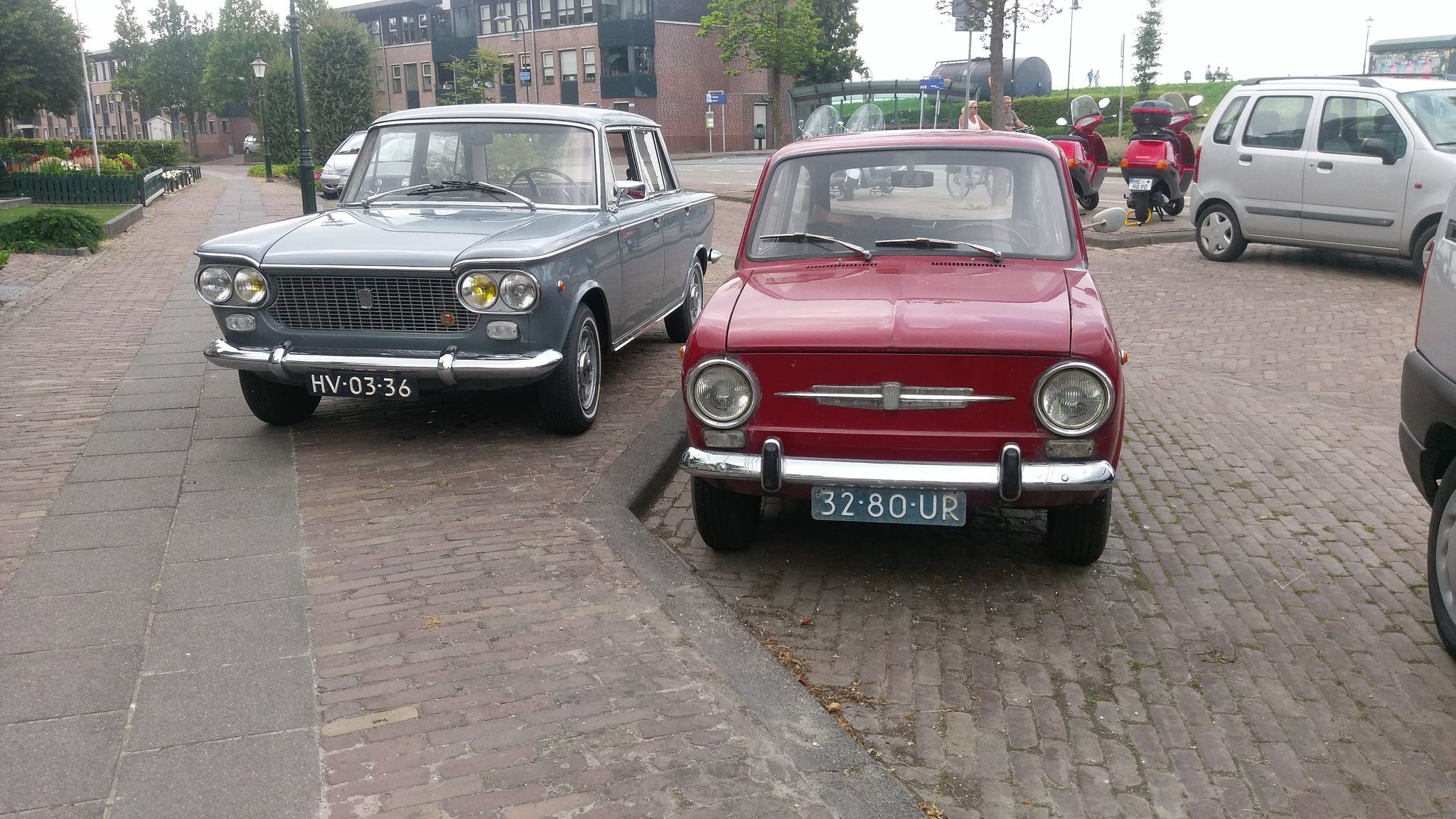 Fiat 1500 1964 And Fiat 850d 1972 Hv 03 36 And 32 80 Ur