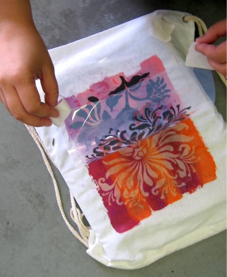 Solarfast Drawstring Backpack Sun Prints Printing On Fabric Prints