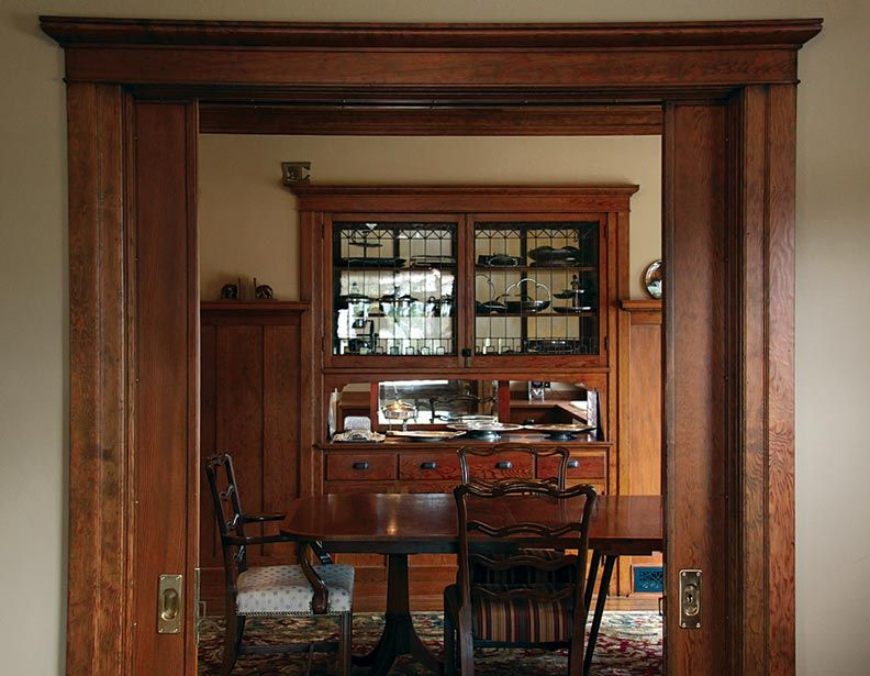 9 Strategies For Period Kitchens Old House Online Cottage Dining Rooms Craftsman Dining Room Built In Buffet