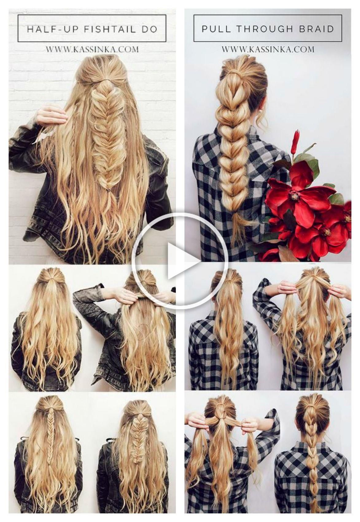 Pin By Emilyreisor On Hair And Beauty In 2020 Braided Hairstyles Long Hair Styles Braids For Long Hair