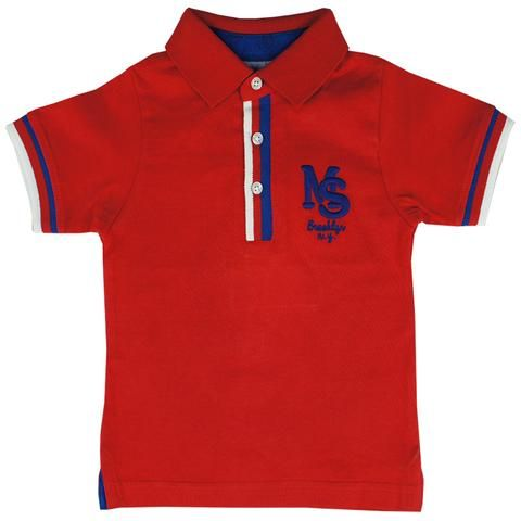 Honey & Clover Kidswear / Children's Apparel | Polo Brooklyn in Red by Mayoral