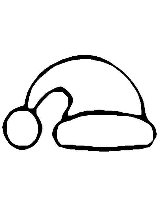 49+ Christmas hat clipart black and white ideas in 2021