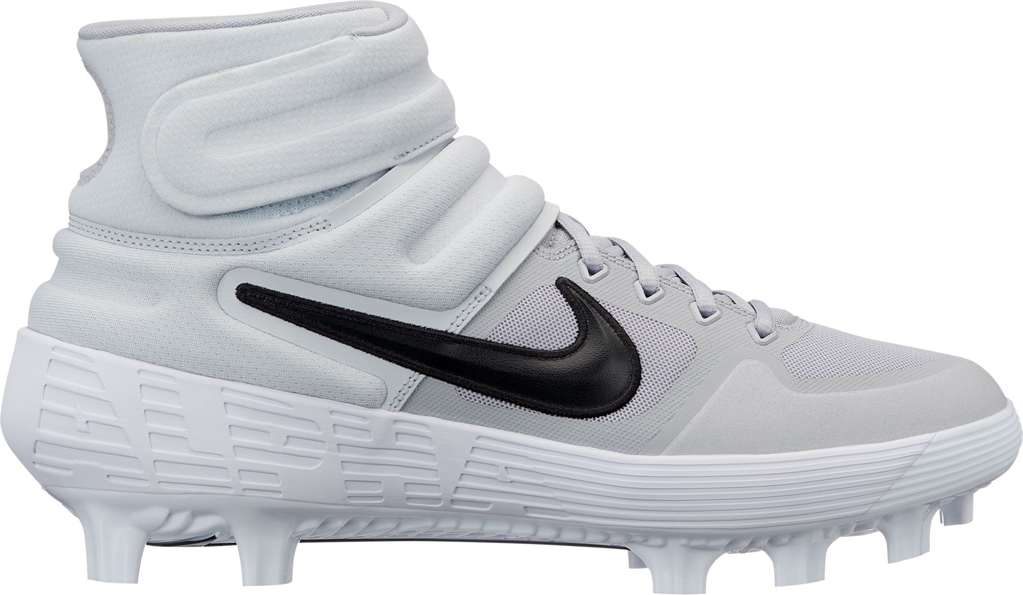 Nike Men's Alpha Huarache Elite 2 Mid Baseball Cleats, Size