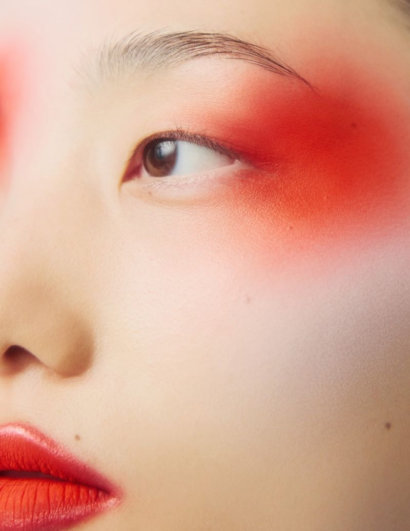 Chunjie Liu & Liu Huan Wear Dramatic Beauty for Harper's Bazaar China -   19 beauty Editorial harpers bazaar ideas