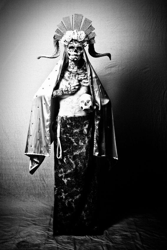Santa Muerte - Antique | RLSFoto Blog Posts | Santa muerte
