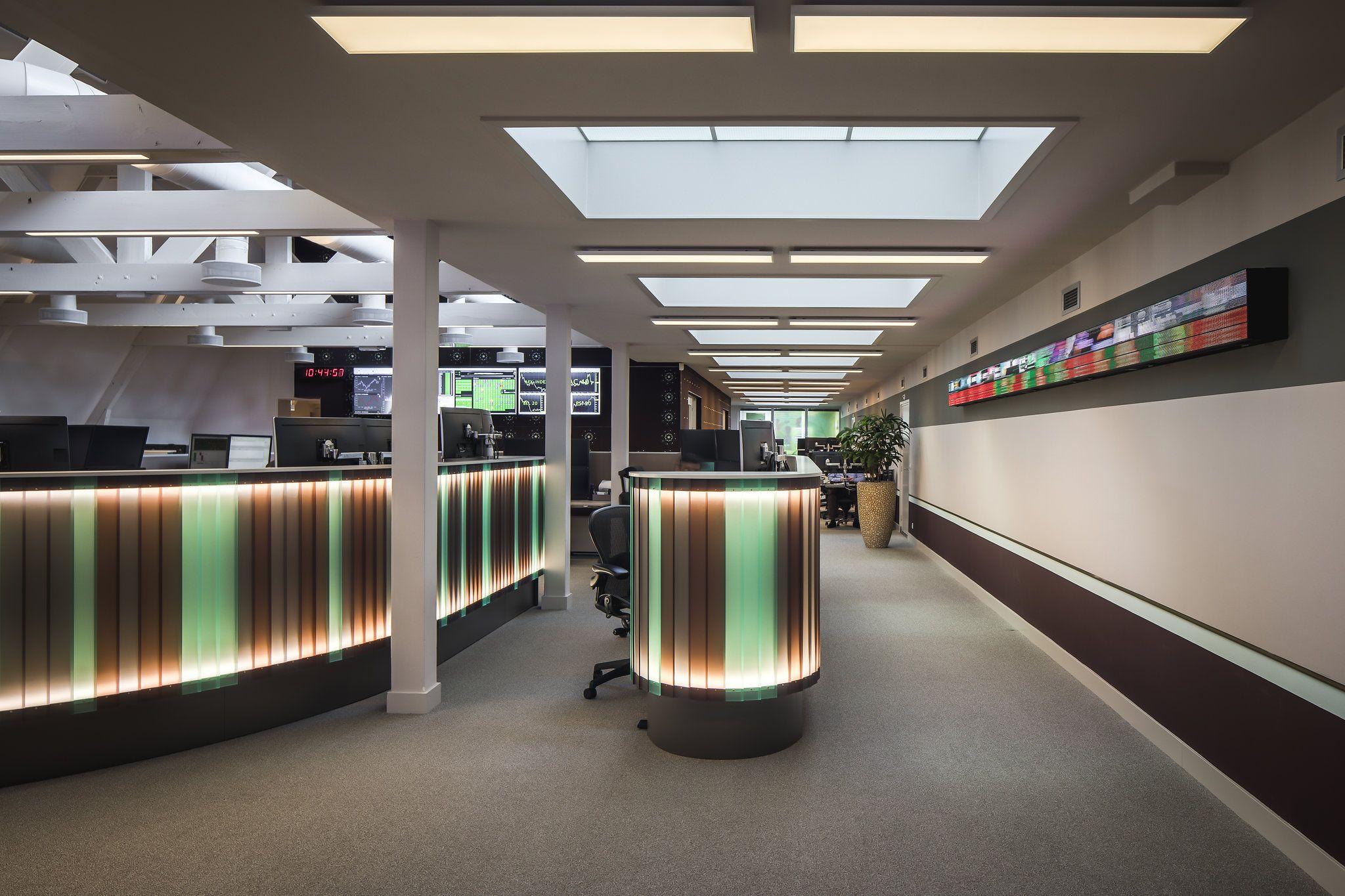 Derksdenboer interior architecture made office for euronext