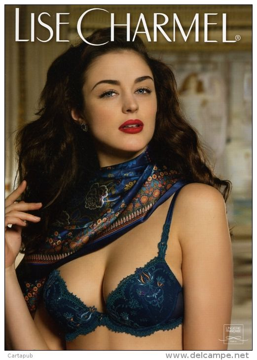 ea86099fb CATALOGUE LISE CHARMEL - COLLECTION AUTOMNE-HIVER 2015 - GLAMOUR SEXY  LINGERIE - Catalogues