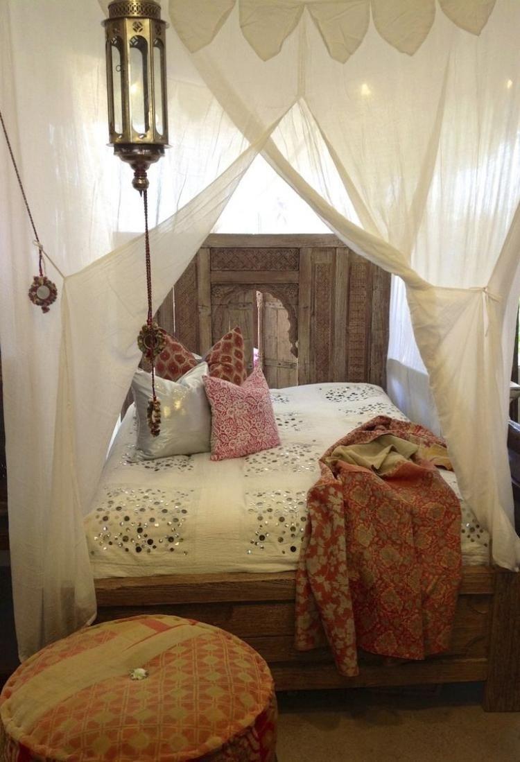 kreative ideen für himmelbett und kopfteil zum selber machen ... - Schlafzimmer Ideen Himmelbett