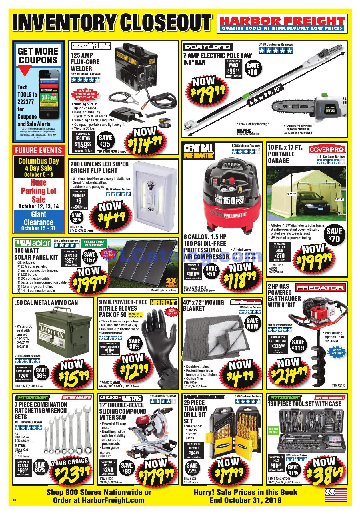 Harbor Freight Tools Monthly Ad March 2019 Harbor Freight Tools Ads Weekly Ads