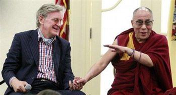 Bob Thurman and His Holiness the Dalai Lama