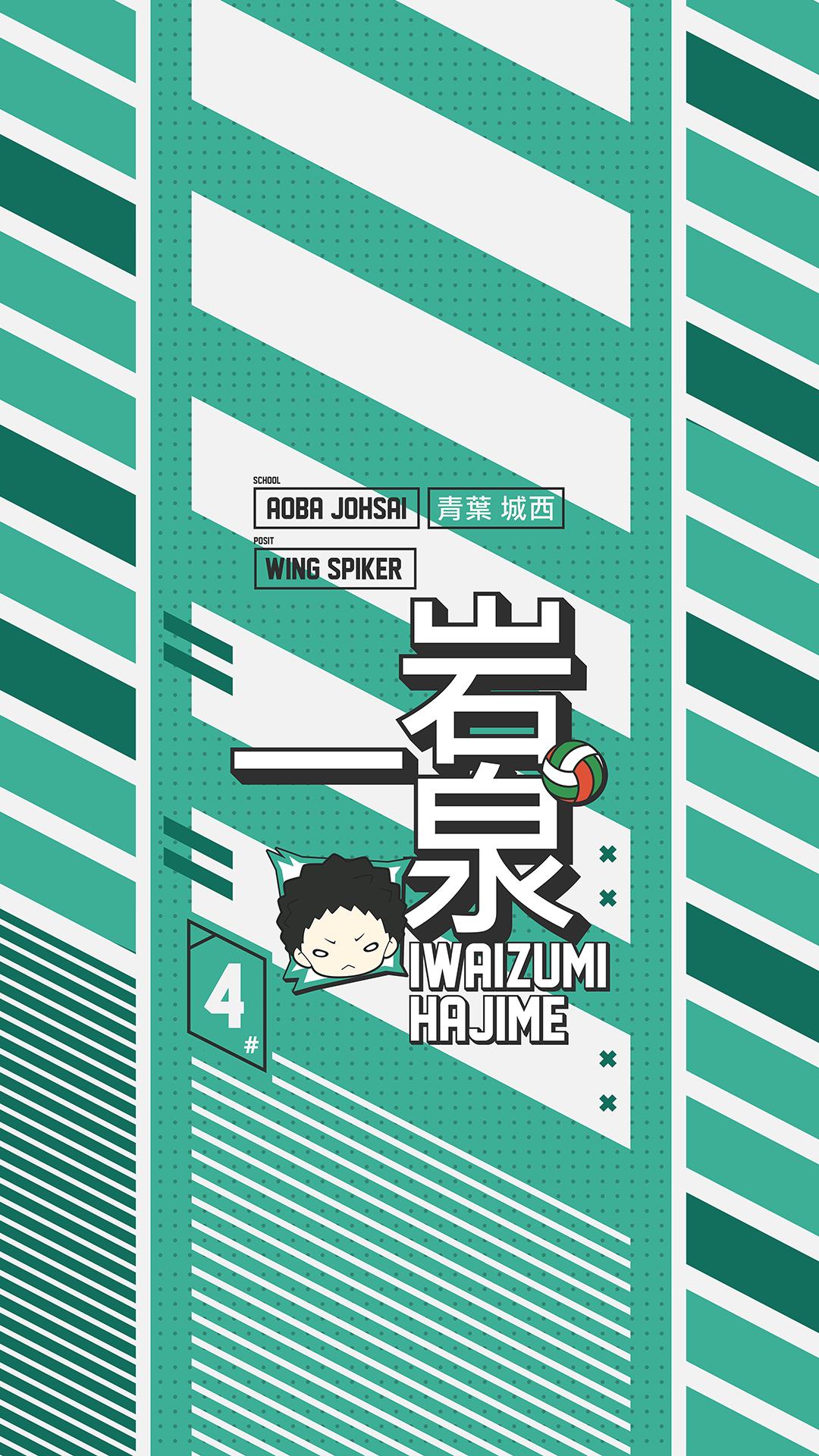 Iwaizumi Hajime Aoba Johsai Haikyuu Wallpaper In 2020 Haikyuu Wallpaper Iwaizumi Cute Anime Wallpaper