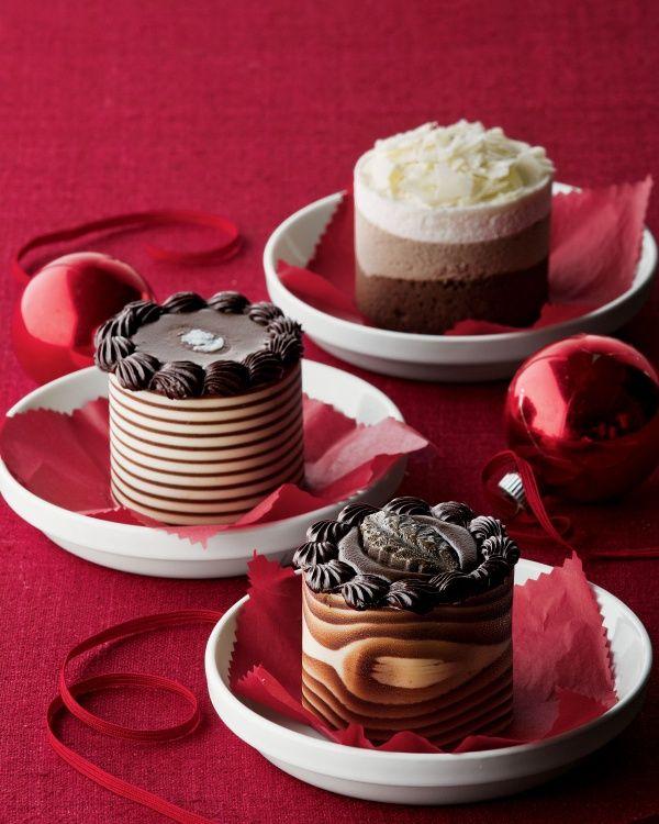 Mini Mousse Cakes   Mini desserts, Galaxy desserts