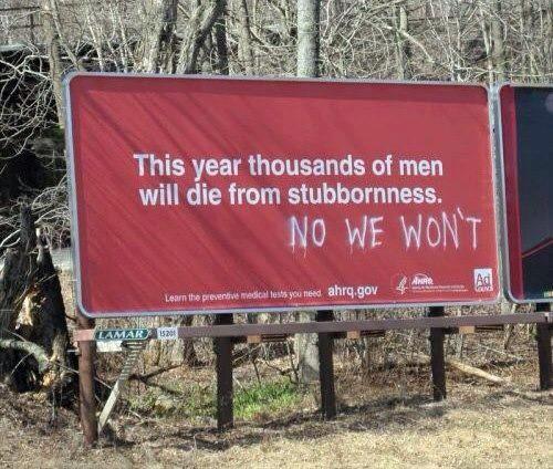 Thousands of men