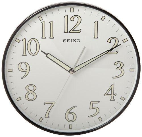 Seiko Qxa521klh Wall Clock Seiko Http Www Amazon Com Dp B007kpri94 Ref Cm Sw R Pi Dp Afsjsb0bdbb28vc6 Wall Clock Price Wall Clock Dial Wall Clock