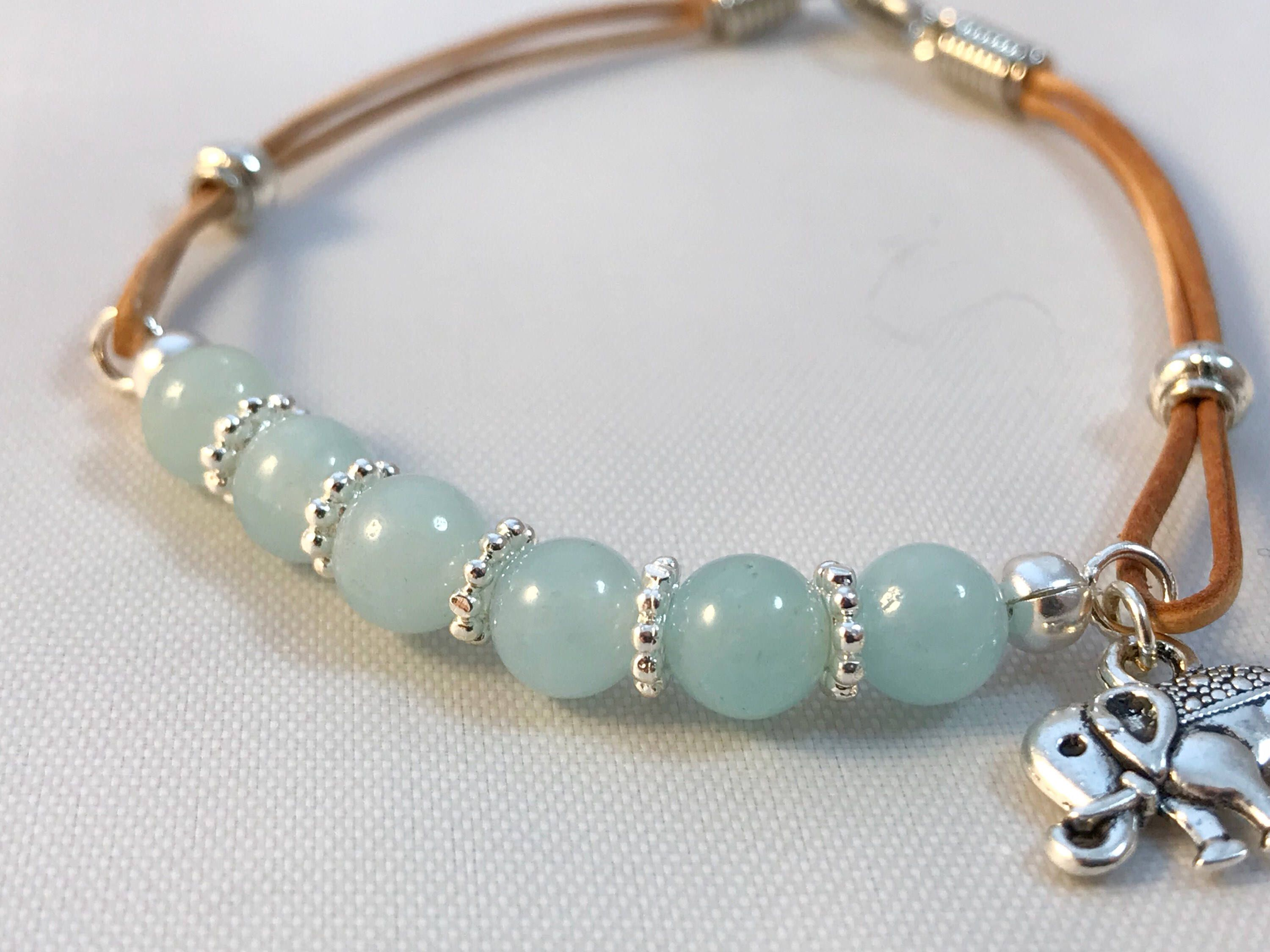boho for aquamarine gemstone double bracelet pin her wrap ideas light blue
