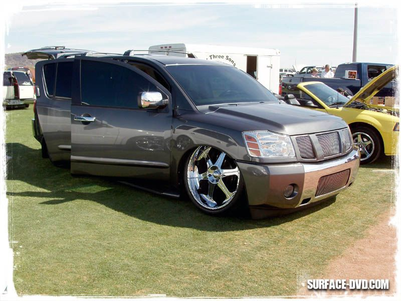 Bagged Nissan Armada Because Minitruck Pinterest Nissan