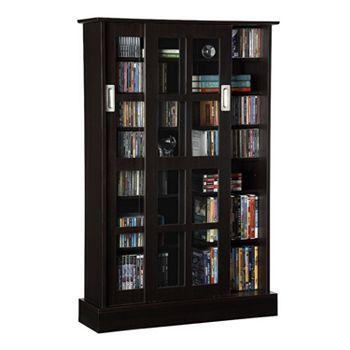 Superbe Atlantic Windowpane Multimedia Cabinet
