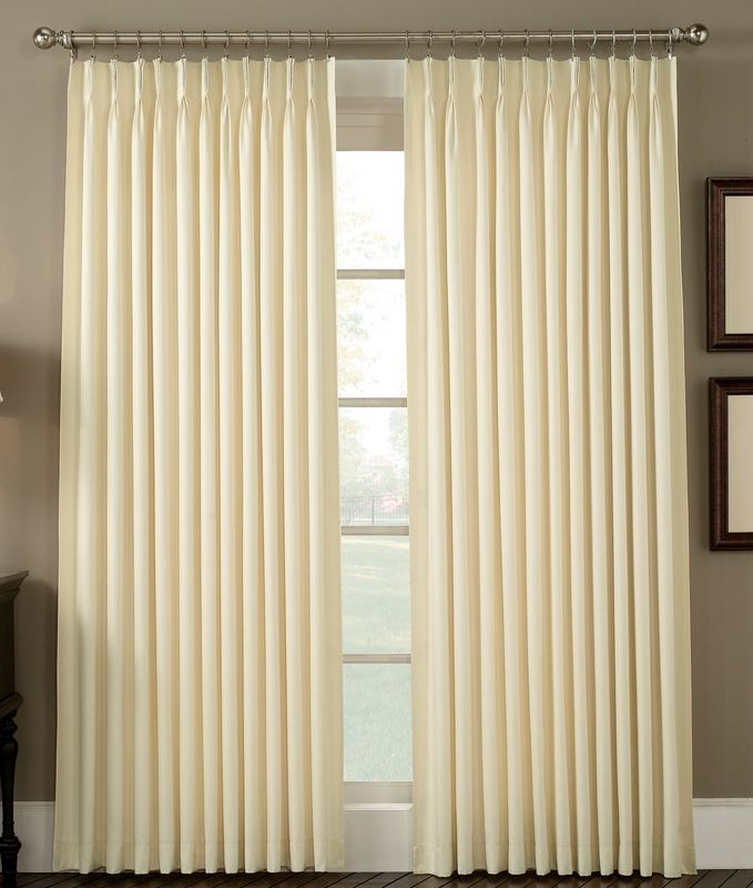 Product Crosby Pinch Pleated Drape Pair 48 X 63 Long Comforter Bedsp Pleated Curtains Pinch Pleat Curtains Curtains Living Room