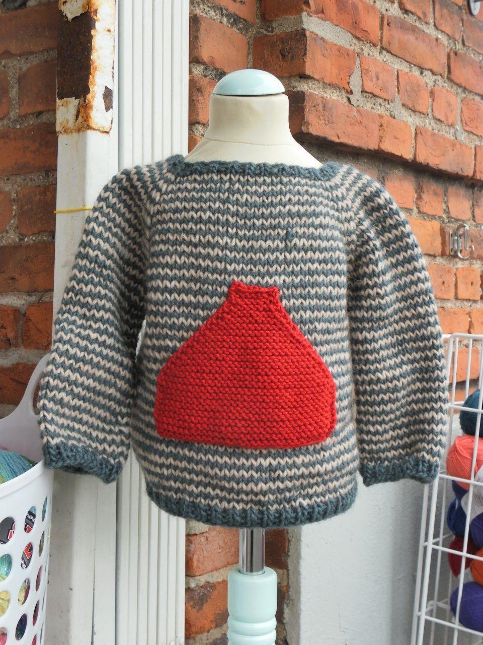 SIGURDS TRØJE strikket i FIRENZE str 2-6 år