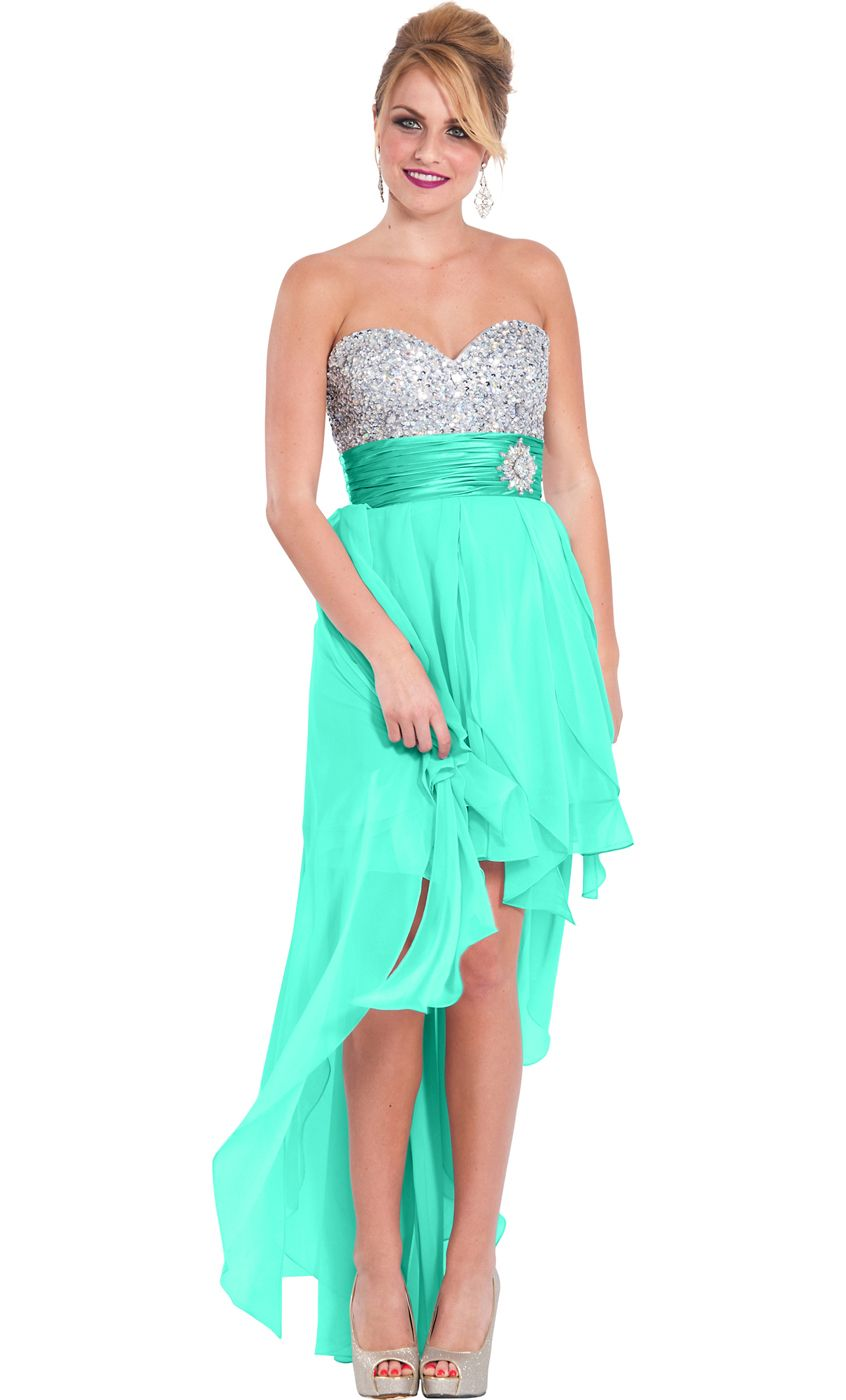 High Low Prom Dresses for Juniors