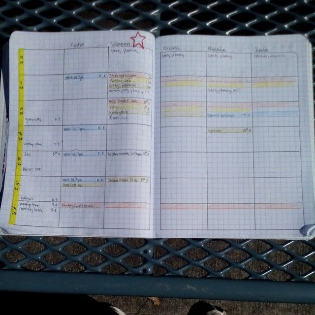 Layout Idea This Week For Our #homeschool Log. #diyplanner #plannerlove.  This