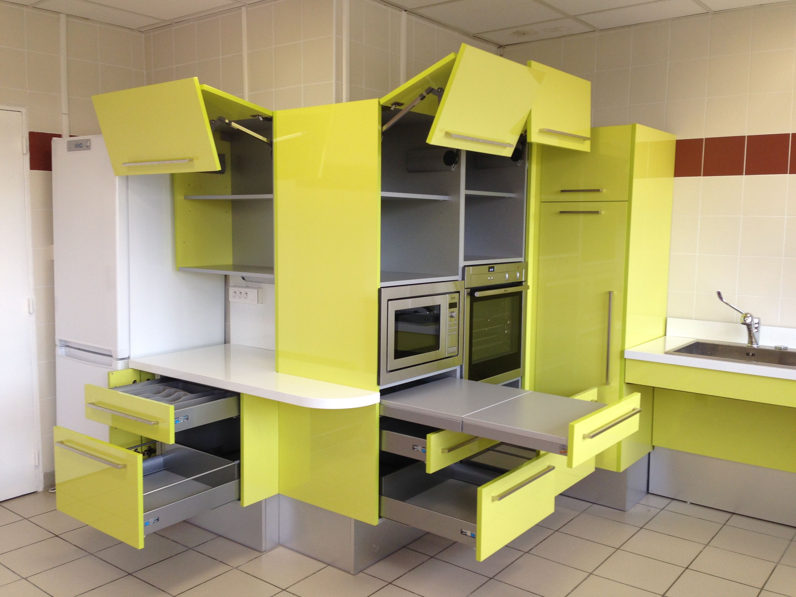 Meubles Salle De Bain Personnes Handicapées cuisine adaptée pmr handicapé et sénior   plan cuisine
