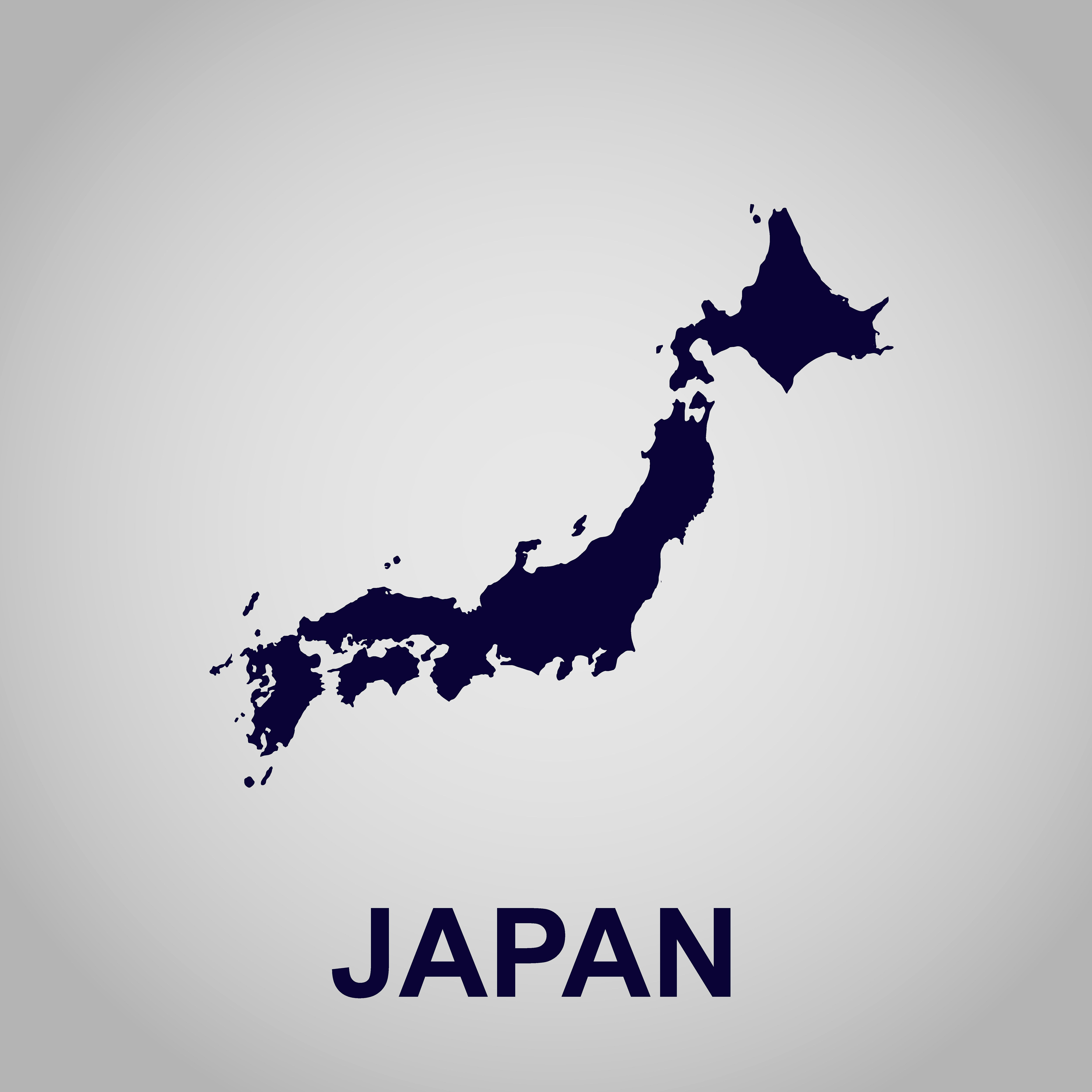 Map Of Japan Japan Map Japan Painting Japan