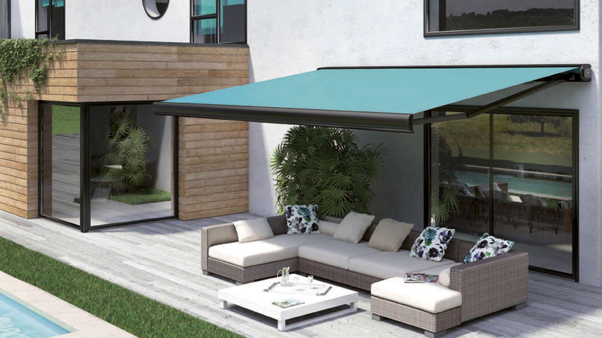 store banne franciaflex diedredesign atlantic fenetres pinterest ext rieur terrasse. Black Bedroom Furniture Sets. Home Design Ideas