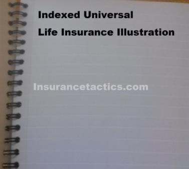 Indexed Universal Life Insurance Illustration Www Insurancetactics